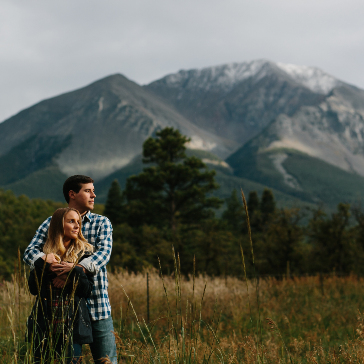 destination adventure engagement session in Colorado
