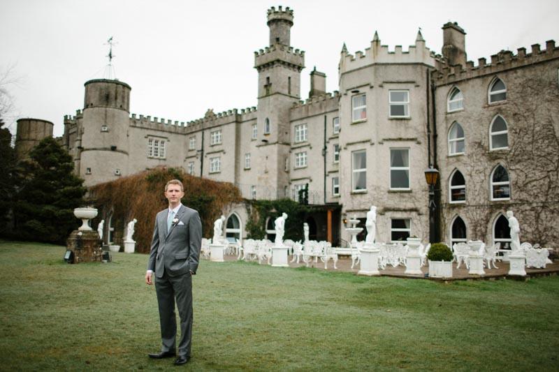 castle wedding groom Ireland