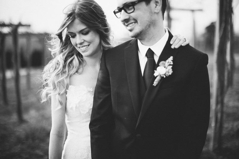 vineyard winery wedding photo bride and groom