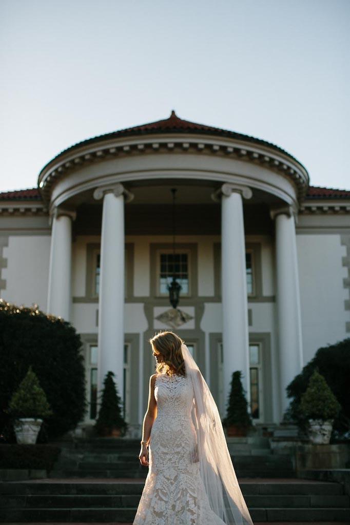 bridal portrait elegant