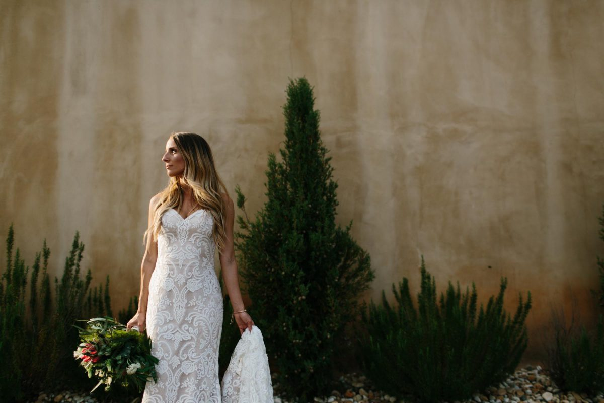 bridal portrait wedding dress ideas elegant