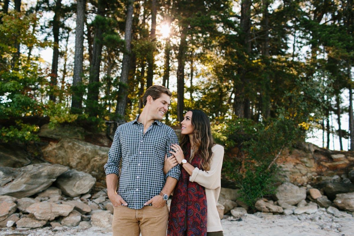 jackie and dan engagement session blog lake lanier-19