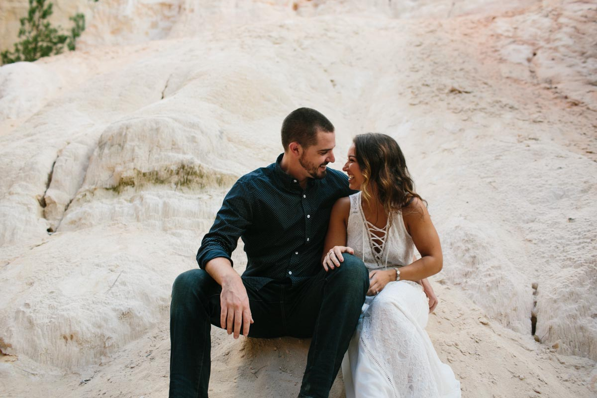 mallory and logan engagement session providence canyon -10