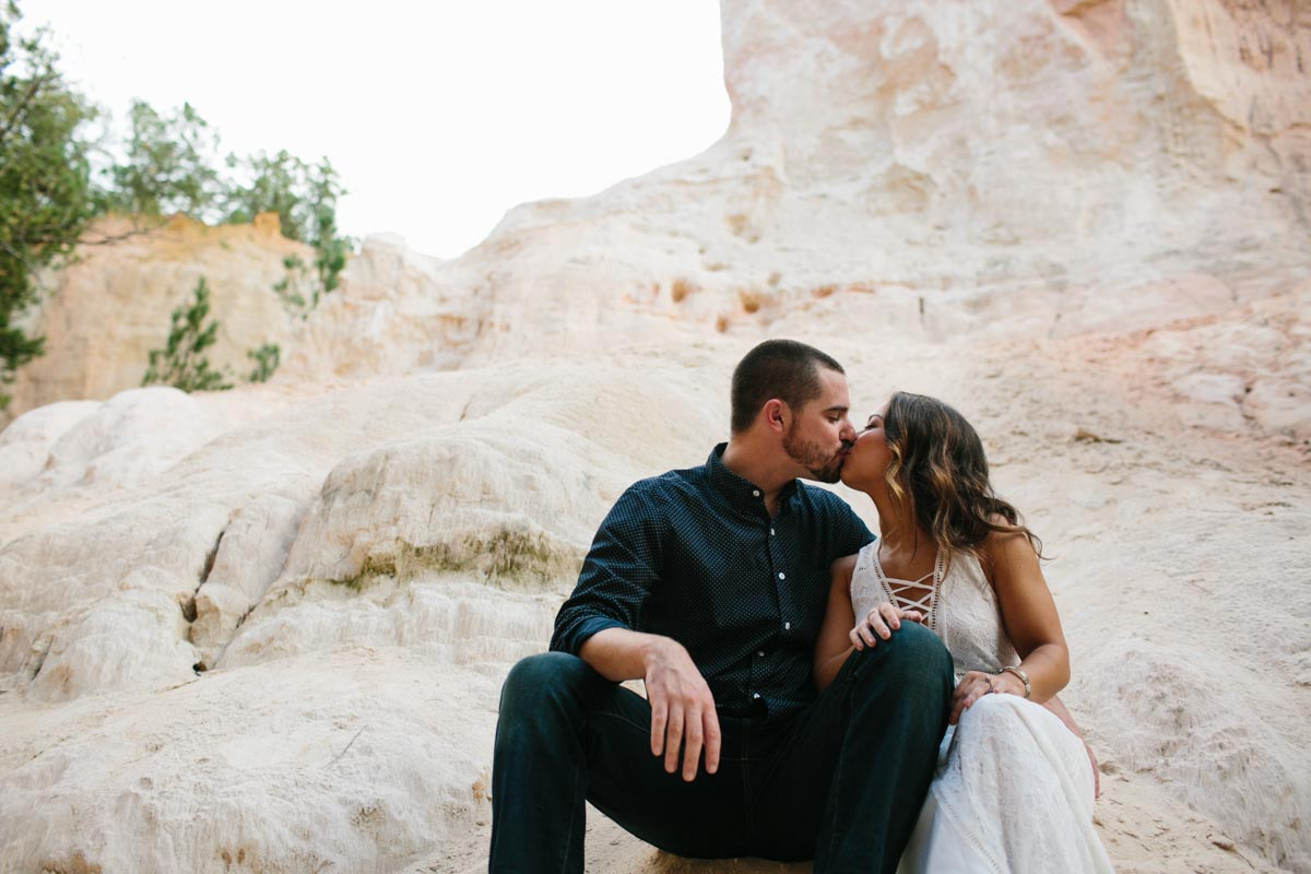 mallory and logan engagement session providence canyon -11