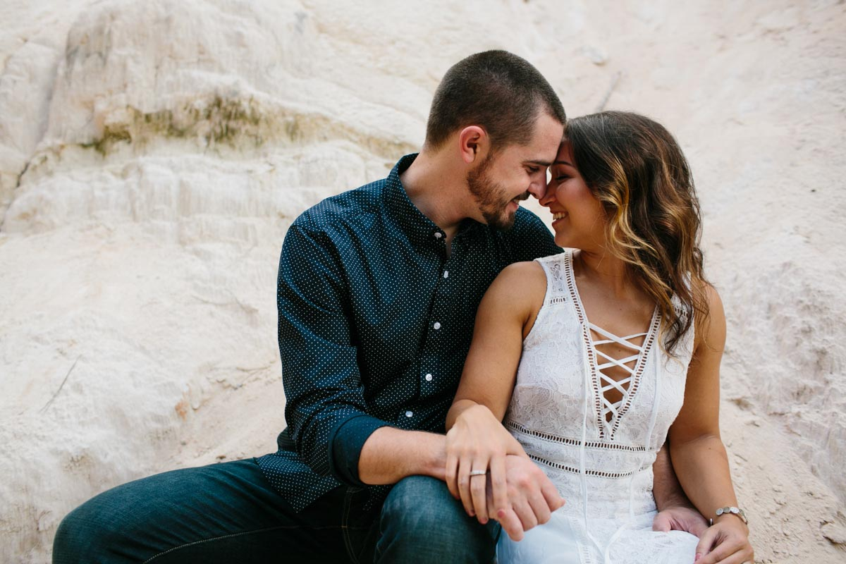 mallory and logan engagement session providence canyon -13