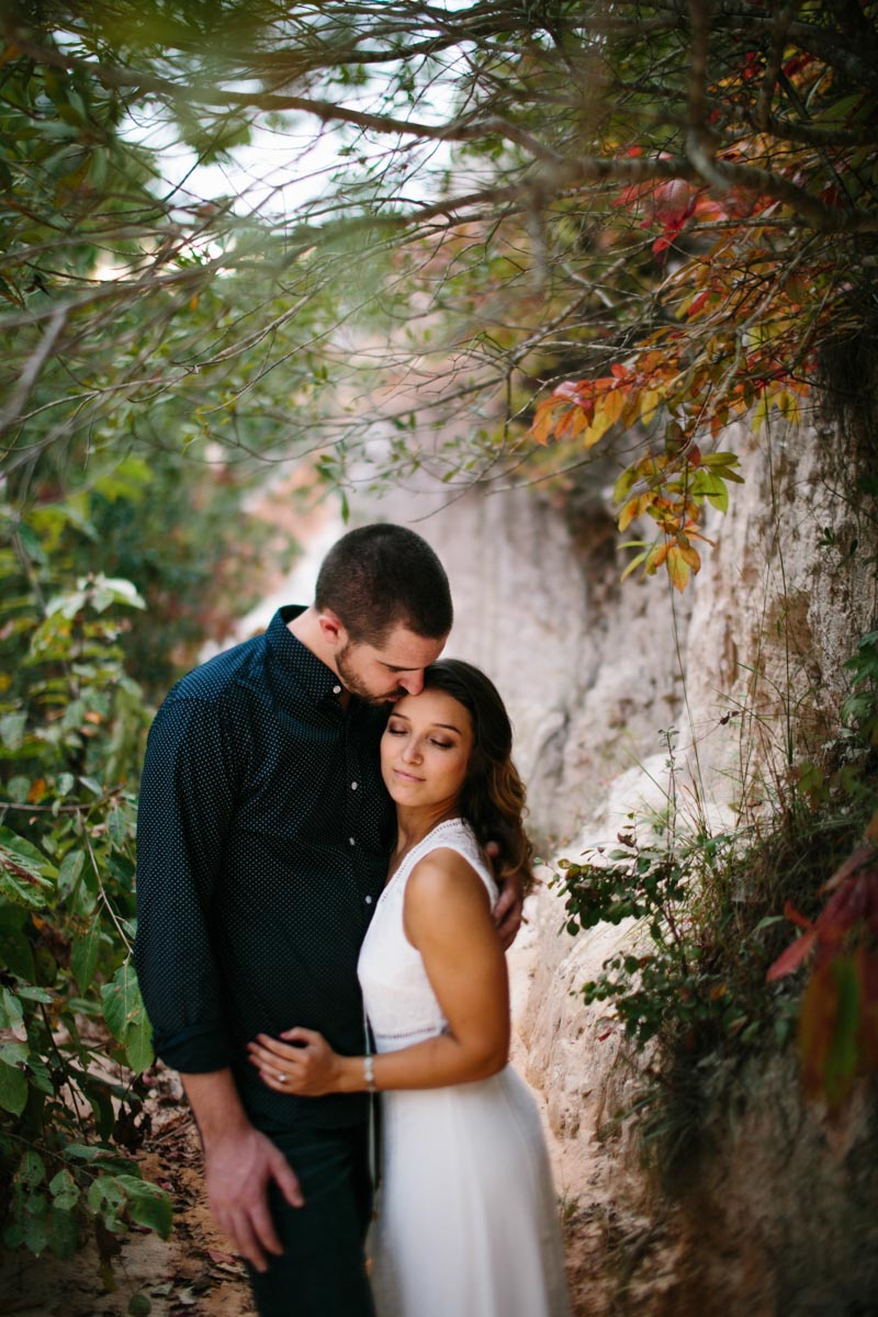 mallory and logan engagement session providence canyon -15