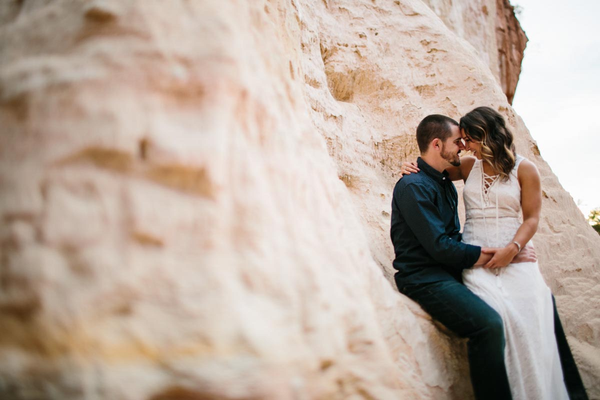 mallory and logan engagement session providence canyon -19