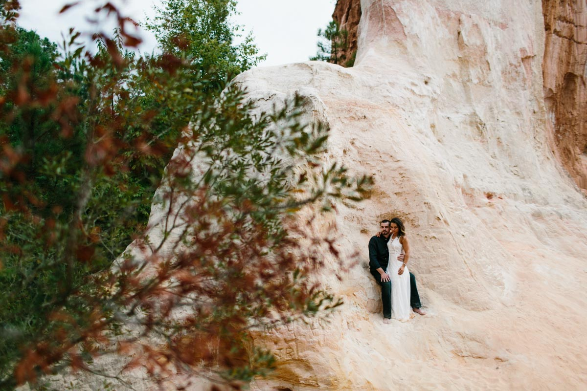 mallory and logan engagement session providence canyon -21