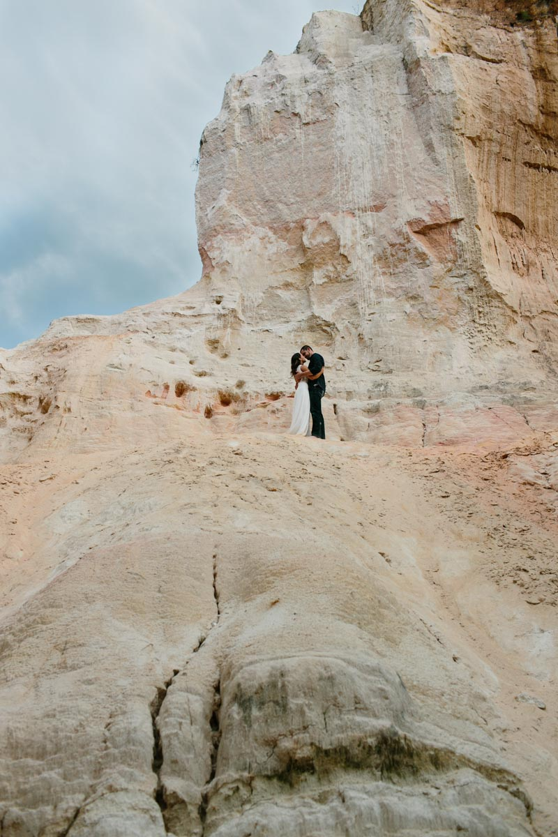 mallory and logan engagement session providence canyon -23