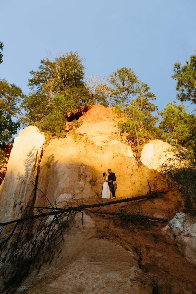 mallory and logan engagement session providence canyon -26