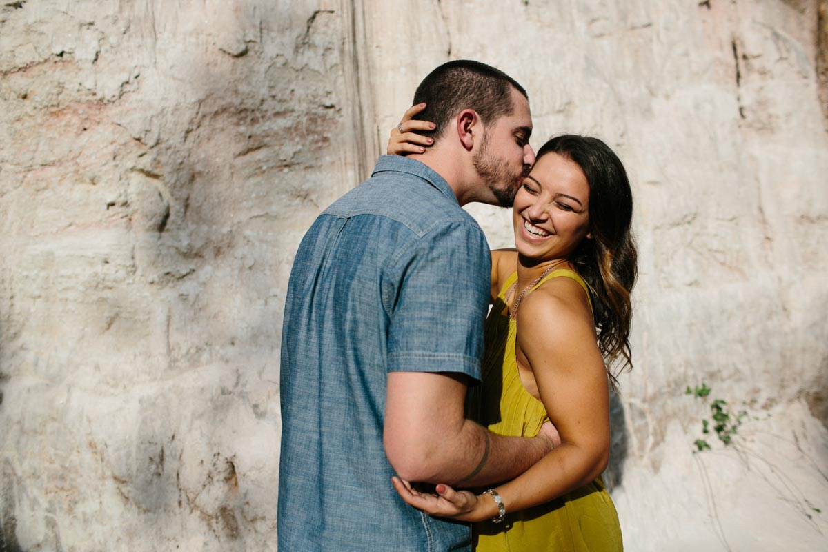 mallory and logan engagement session providence canyon -3