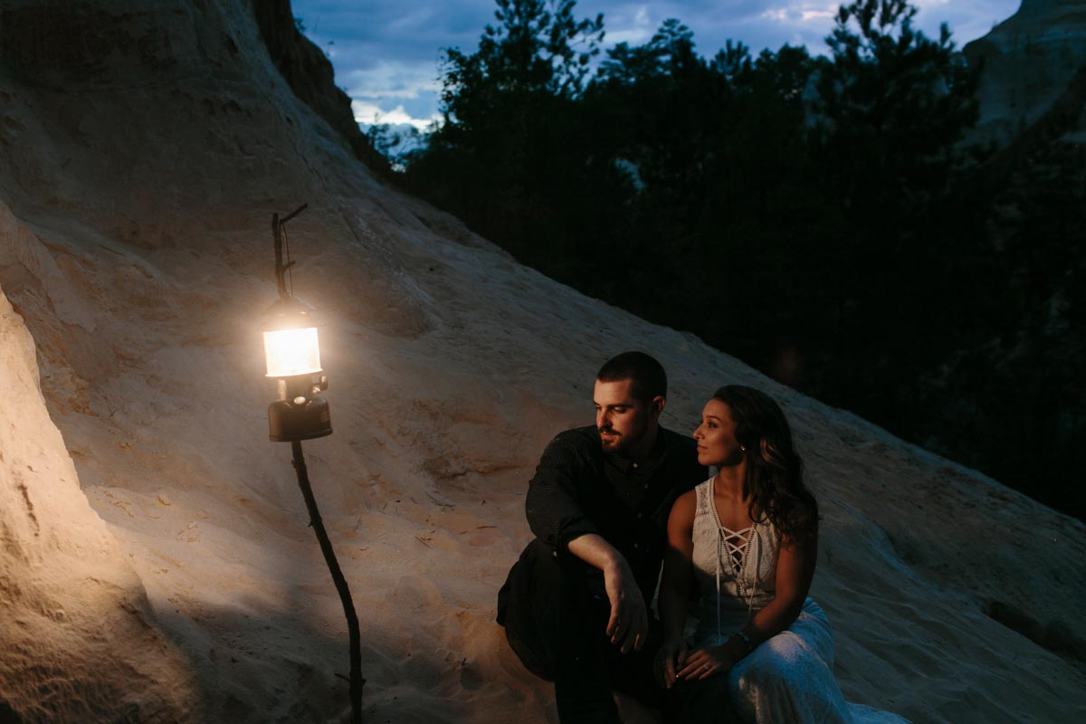 mallory and logan engagement session providence canyon -30