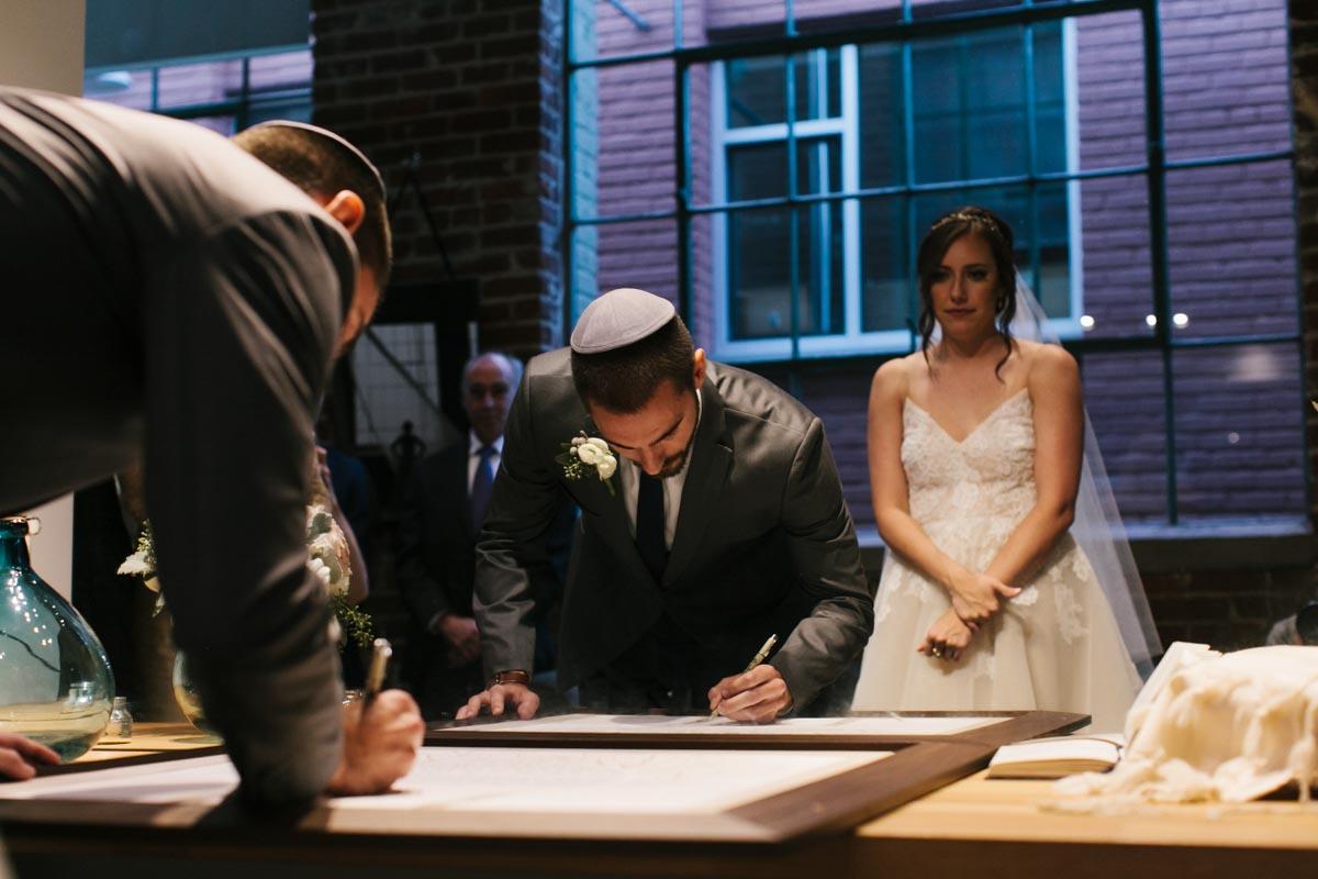 bayley wedding blog foundry at puritan mill wedding-56