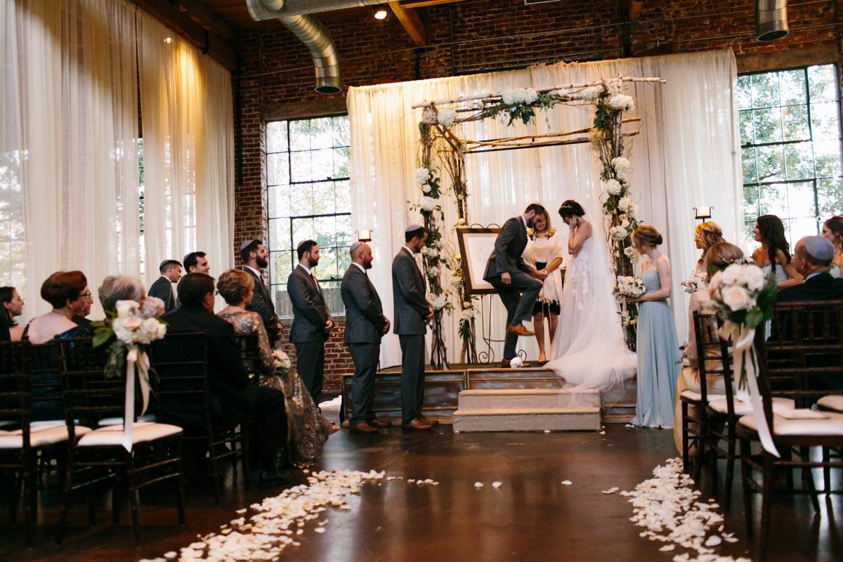 bayley wedding blog foundry at puritan mill wedding-67