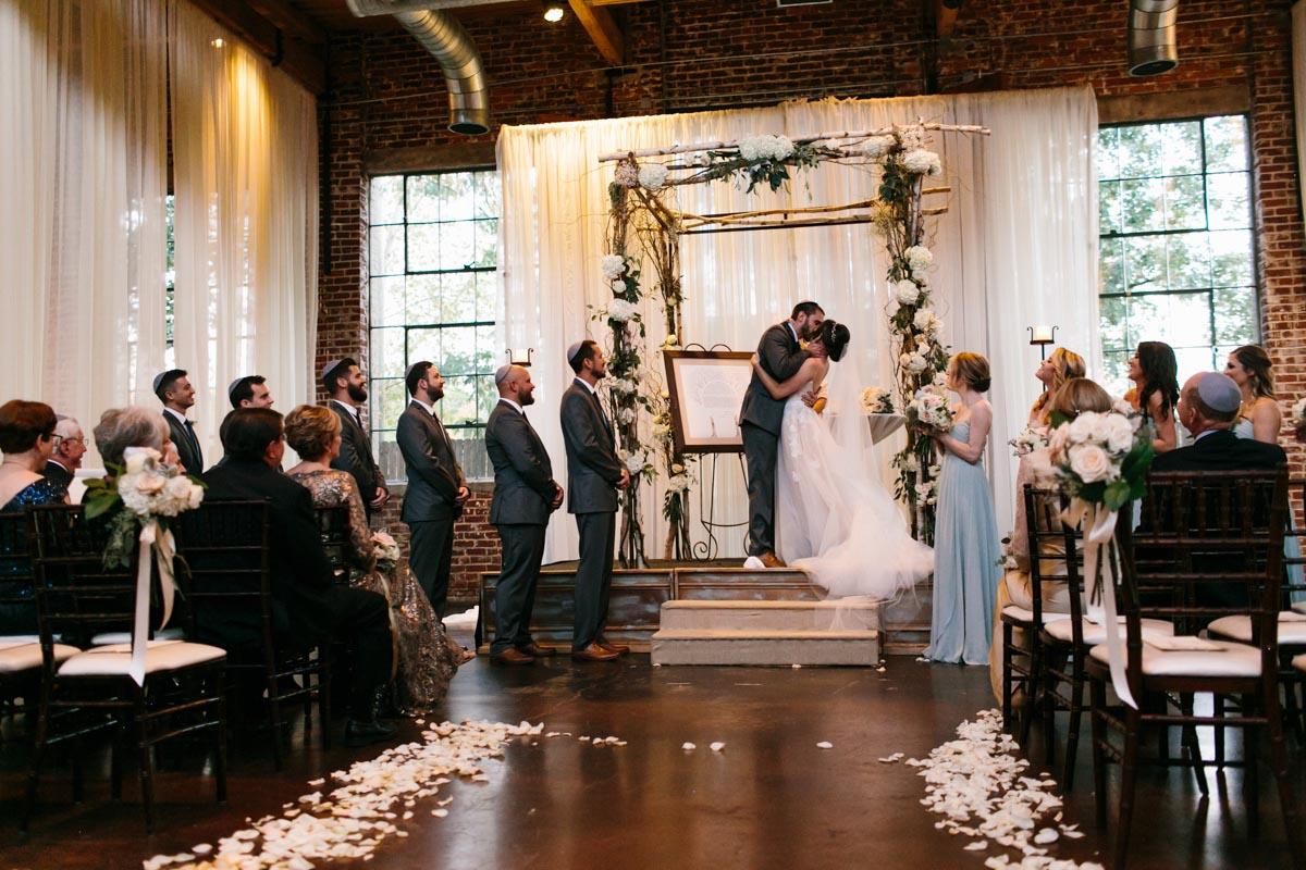 bayley wedding blog foundry at puritan mill wedding-68