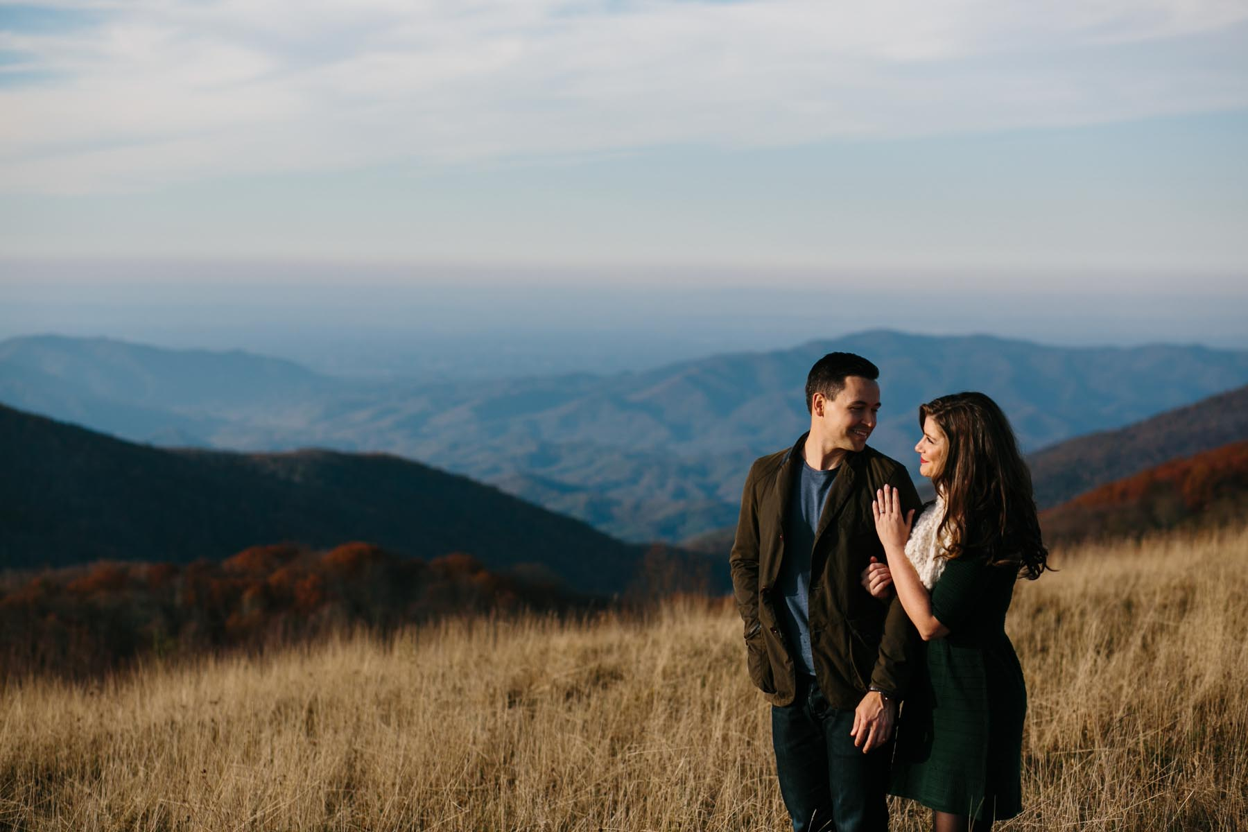 kait and michael engagement blog max patch -17