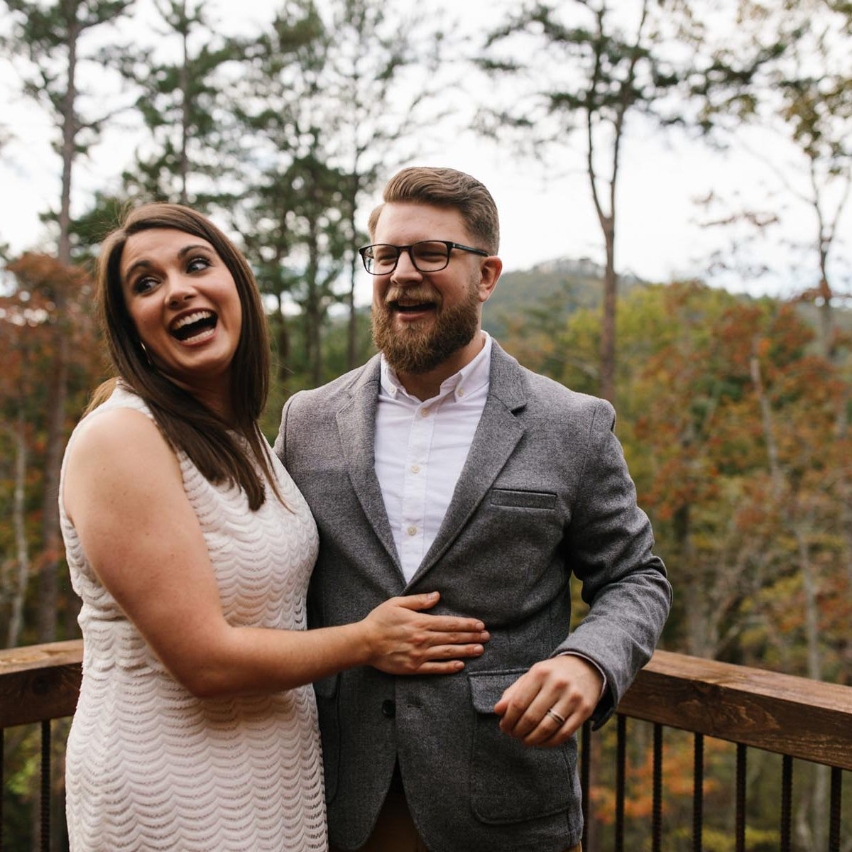 north georgia mountain elopement