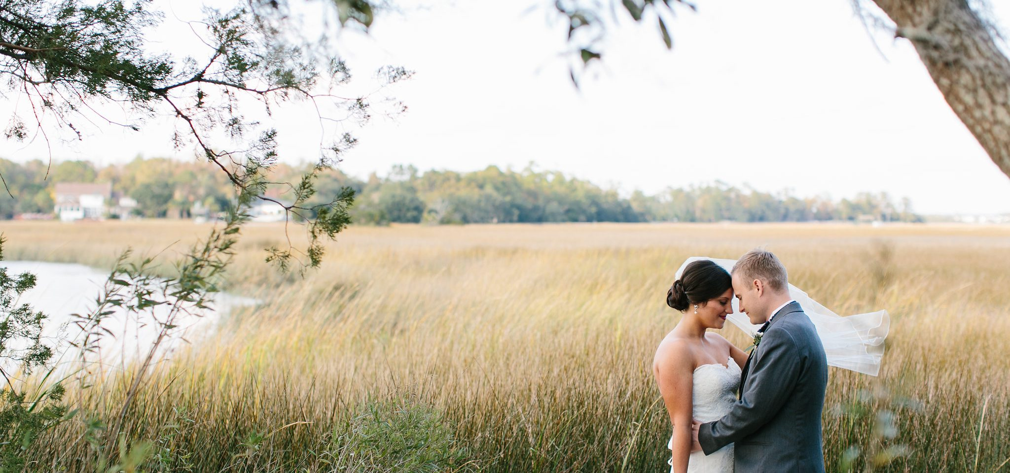 intimate Boone Hall wedding photos