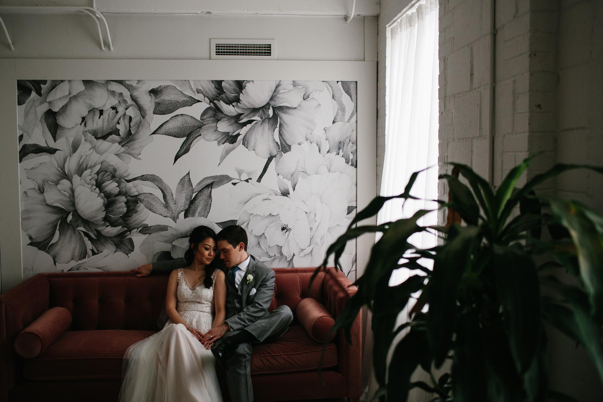 upstairs atlanta wedding photos